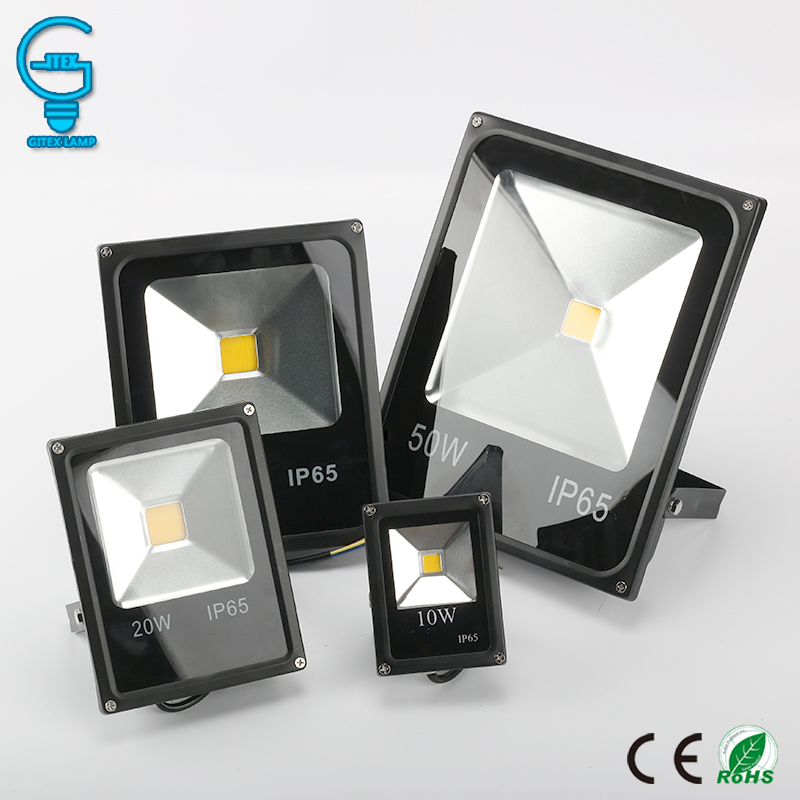 Outdoor Wall Exterieur Lamp 10W 20W 30W 50W LED Flood Light 220V 240V LED Floodlight Projector Reflector Lighting цены
