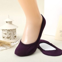 Women's Warm Comfortable Cotton Girl Ankle Low Female Invisible Socks Color Hosiery 7 Colors