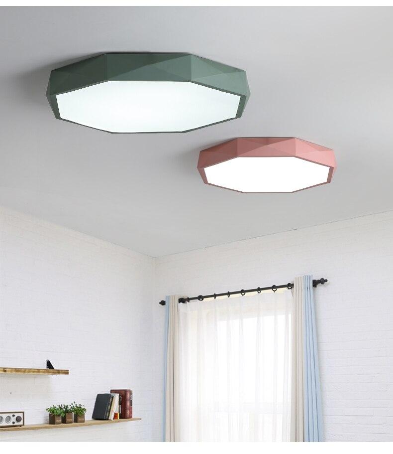Kids Room Lights Children Dimmable Ceiling Lamp Baby Light For Boys S Bedroom Lighting Luminaria Led Teto Fixtures