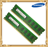 Samsung Desktop Memory DDR3 4GB 2x2GB 1333MHz PC3 10600U PC RAM 2G 4G 10600 1333 240pin