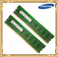 Samsung memoria Desktop di DDR3 4 GB 2x2 GB 1333 MHz PC3-10600U PC RAM 2G 4G 10600 1333 pin