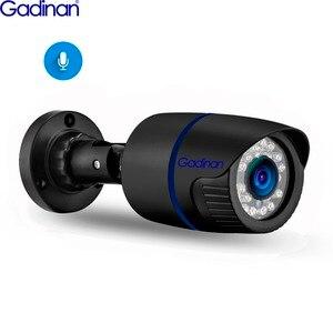 Image 1 - Gadinan 5MP 2592X1944P IP 카메라 오디오 기록 야외 방수 3MP 1080P HD 보안 H.265 POE 유선 감시 카메라