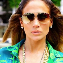 RunBird 2017 New Fashion Men women Brand Designer Metal Sunglasses Original Lady
