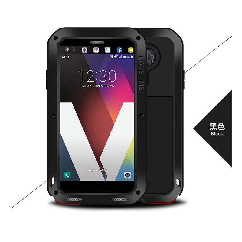 Image 5 - Love Mei Metal Case For LG V30 Plus V35 V40 V50 ThinQ Shockproof  Phone Case Cover For LG G7 ThinQ Full Body Anti Fall Armor Casecase for  lgcase for lg v10waterproof case