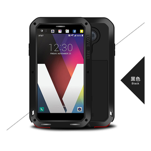 Image 5 - Love Mei Metal Case For LG V30 Plus V35 V40 V50 ThinQ Shockproof Phone Case Cover For LG G7 ThinQ Full Body Anti Fall Armor Case
