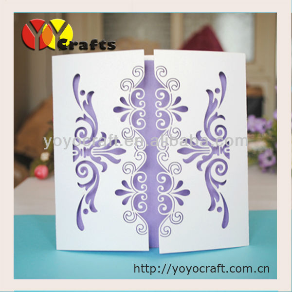 Wedding Invitation Card 2015 Handmade Wedding Invitation Card In