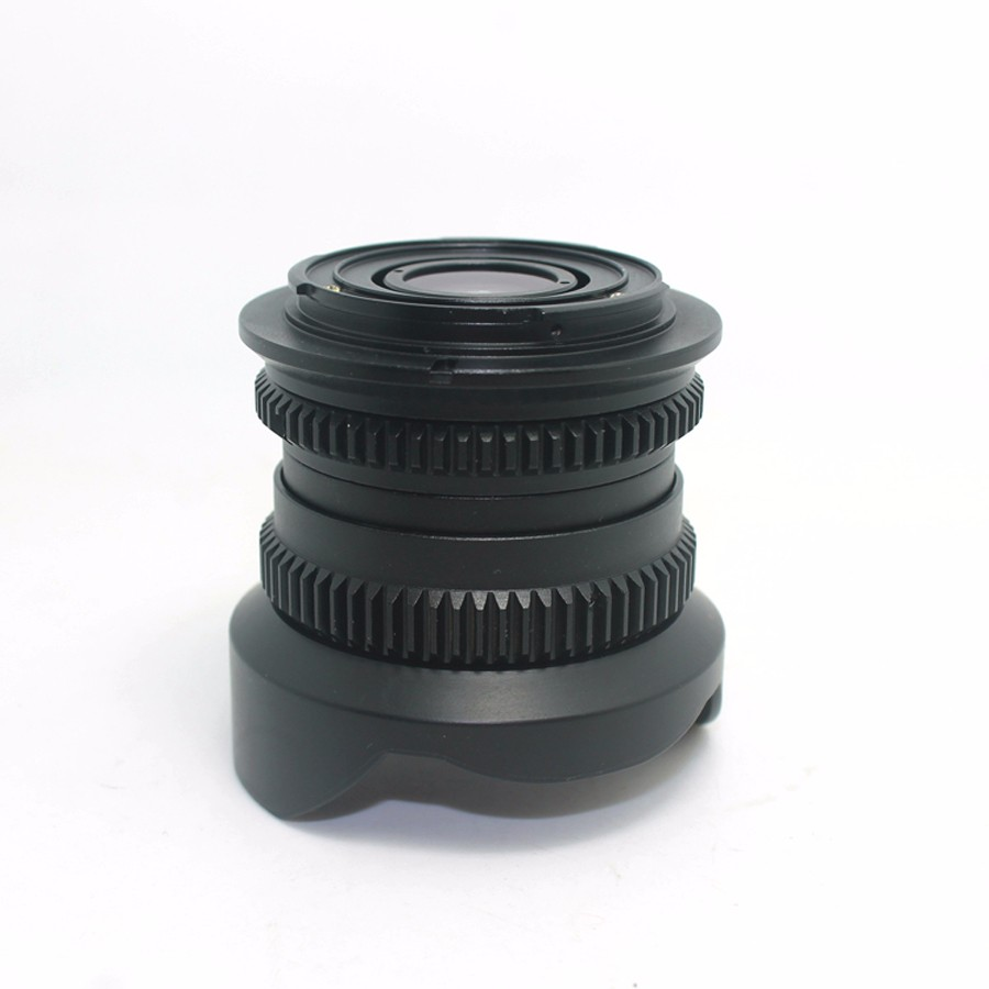 8mm F2.8 Ultra Wide Angle Fisheye Lens for Sony NEX E-mount A7 A6300 A6000 /Macro 4/3 M4/3 GH4 BMPCC /Fuji FX DSLR Camera 4