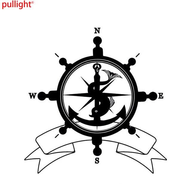 Nswe Fashion Sea Helm Flag Symbol Anchor Compass Travel Pirates