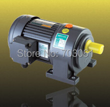 Motor HP de 1/2 W, eje de velocidad de salida de 400 V 50Hz 60rpm, 220 W, instalación Horizontal de 28mm, motores de engranaje de CA con relación de caja de cambios 30:1