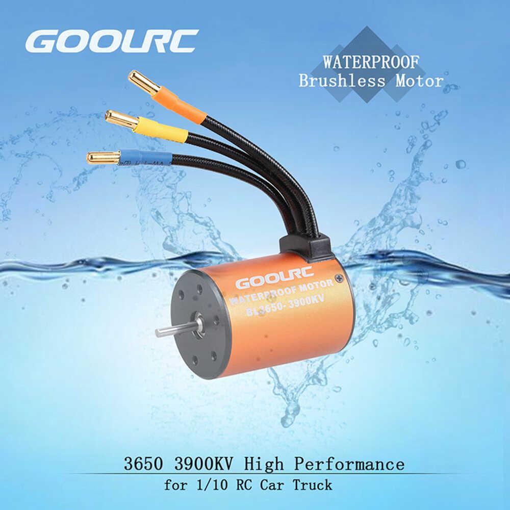 GoolRC Combo ชุด 3650 3900KV 4300KV มอเตอร์ 60A Brushless ESC 20 กก.25 กก.Servo 25T Servo ARM combo 1/10 RC รถบรรทุก Off-road