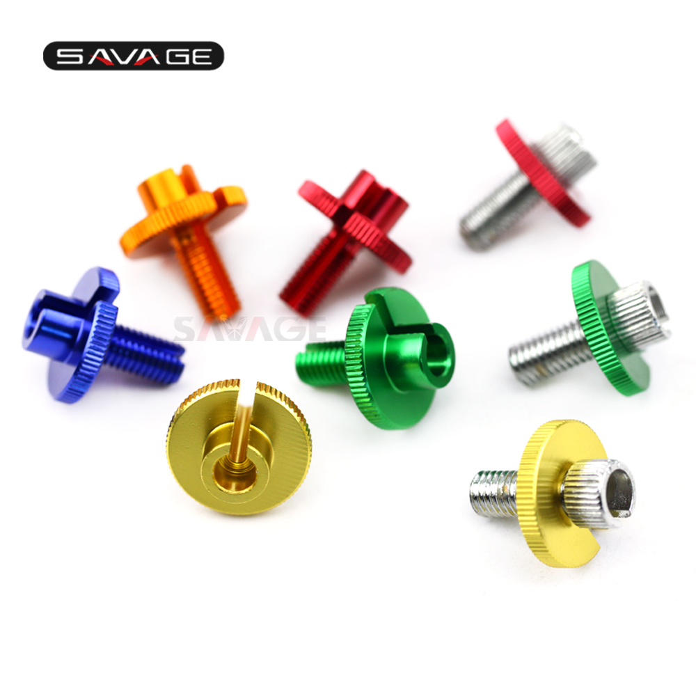 Clutch Cable Wire Adjuster Screw For <font><b>SUZUKI</b></font> GSX-R 600/750/1000 GSX-S 1000/1000F <font><b>TL</b></font> <font><b>1000S</b></font> GSXS1000 1988-2018 2017 Aluminum Iron image