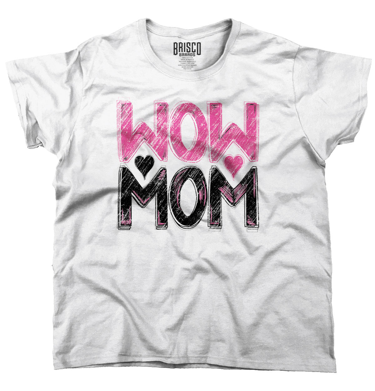 Mother's Day T Shirt Wow Mom Cute Funny Humor Gift Ideas ...