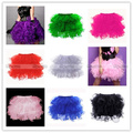 8 colores de malla Pettiskirt Mini falda del tutú del Ballet Cotume corsé accesorios Petticoat sml XL 2XL