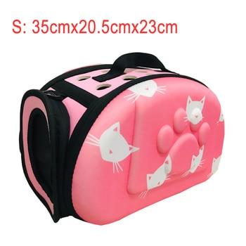 YUYU Cat Carrier Bag Outdoor Dog Carrier Bag Foldable EVA Pet Kennel Puppy Dog Cat