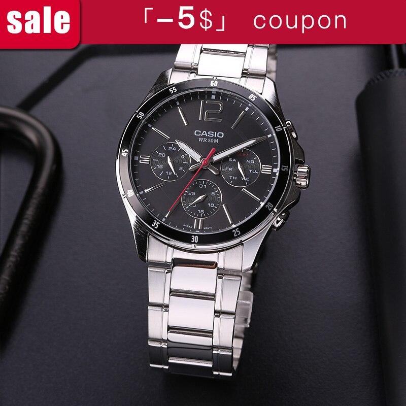 Casio montre pour homme d'affaires de décontracté pointeur série quartz hommes de montres MTP-1374D-1A