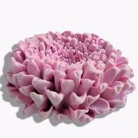 꽃 실리콘 금형 꽃 비누 몰드 꽃 실리콘 비누 금형 꽃 실리카 젤 다이 3D 아로마 돌 금형 3d 촛불 금형