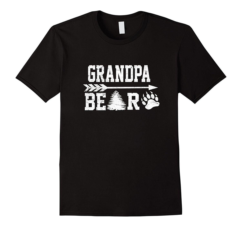 Claw Grandpa Bear Christmas Pajamas Maching Awesome Tshirt O Neck Tee Shirt Short Sleeve Top Tee Hot Sell 2017 Fashion