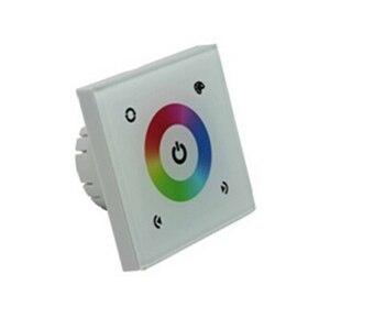 LED RGB controllerTM08E DC12V 144 W, DC24V 288 W, écran tactile couleur basse tension standard européen