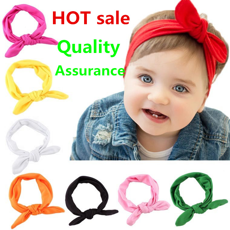 Kids Headband Bow For Girl Rabbit Ear Hairbands Turban Knot Kids Turbans Accessoire Faixa Cabelo Para Bebe Headband Baby Girl