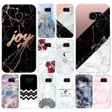 150A Marble Stone Soft TPU Silicone Cover Case for