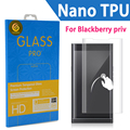 For BlackBerry Priv  Premium Ultra Thin Film Screen Protector TPU Full screen HD explosion-proof membrane  3D Cover hook face