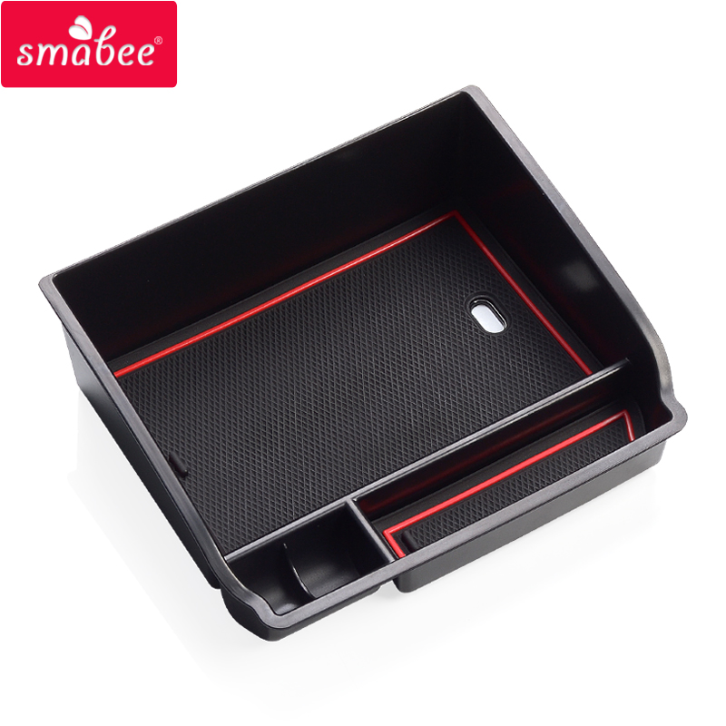 smabee Car Central Armrest Box For Toyota Hilux REVO SR5 Fortuner 2015-2018 Center Secondary Storage high quality 10pa15c ac compressor for car toyota hilux revo dsl 447170 2721 4471702721