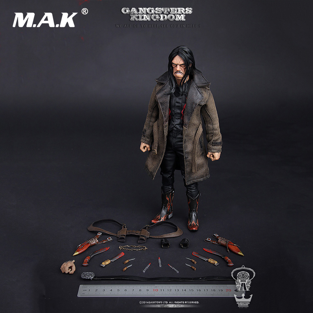 In Stock 1/6 Full Set Male Action Figure <font><b>Gangsters</b></font> <font><b>Kingdom</b></font> Diamond 3 Juarez The Butcher Knife Comic Model Toys for Fans Gift image