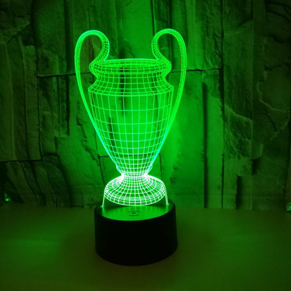 Hot Selling Creative Gift Customized 3d Nightlight Cup Colorful Touch Led 3d Visual Table Lamps For Living Room 3d Usb Desk Lamp To Win A High Admiration And Is Widely Trusted At Home And Abroad.