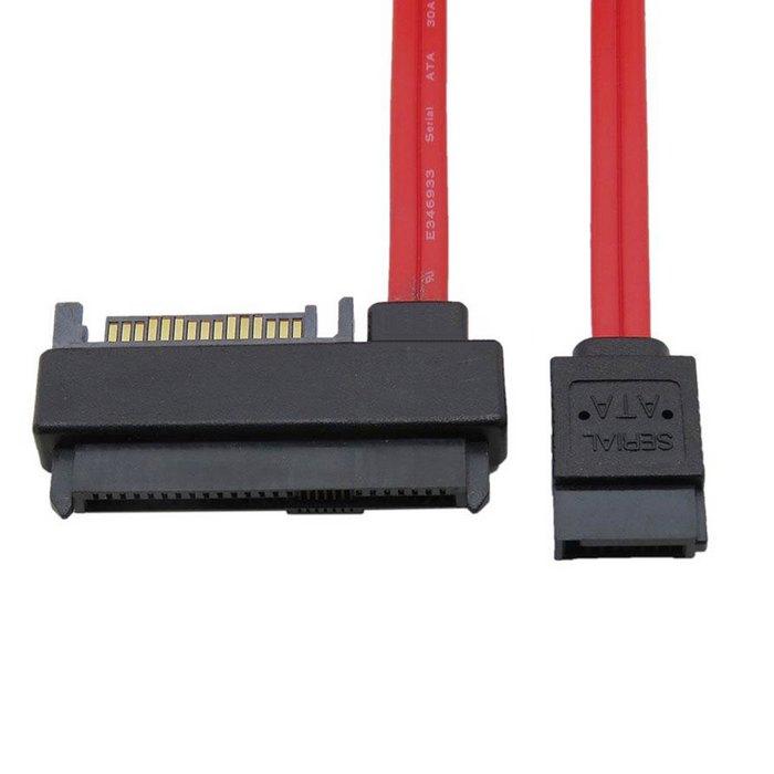 """קרסים עופרות אביזרים וביגוד 50 ס""""מ SFF-8482 SAS 29 פין ל 7 Raid פין SATA Hard Disk Drive בכבלים עם 15 נמל פין SATA כוח הצבע האדום (3)"""