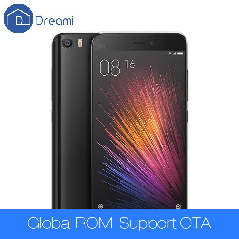 bilder für Dreami Original Xiaomi Mi5 Prime Handy 3 GB RAM 64 GB ROM Löwenmaul 820 Quad Core 5,15 zoll 16MP Dual Sim 4 Karat Mi 5 Fingerprint
