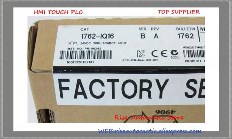 купить New Original Programmable Controller 1762-IQ16 PLC 24VDC 16 Input Points Digital Input Module по цене 6640.89 рублей