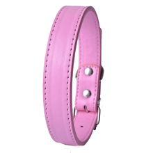 LDC011 Pu Leather Dog Collars with 11Colors for Small Dog and Pet Puppy Neck Strap