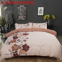 LOVINSUNSHINE Bedding And Bed Sets King Duvet Cover Set Flower Bedding Set AB07#