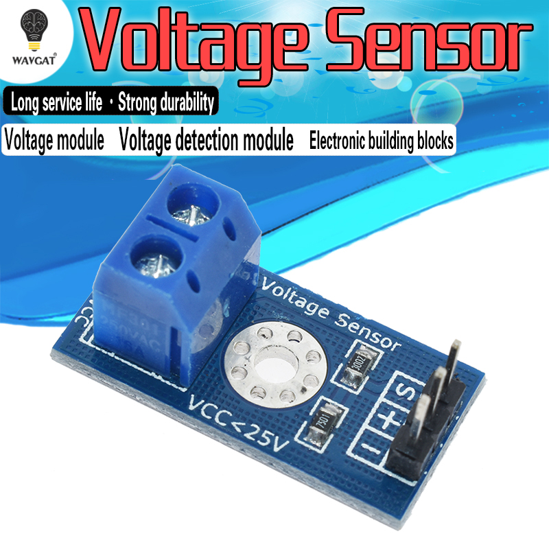 free-shipping-voltage-detection-module-voltage-sensor-for-font-b-arduino-b-font-electronic-building-blocks