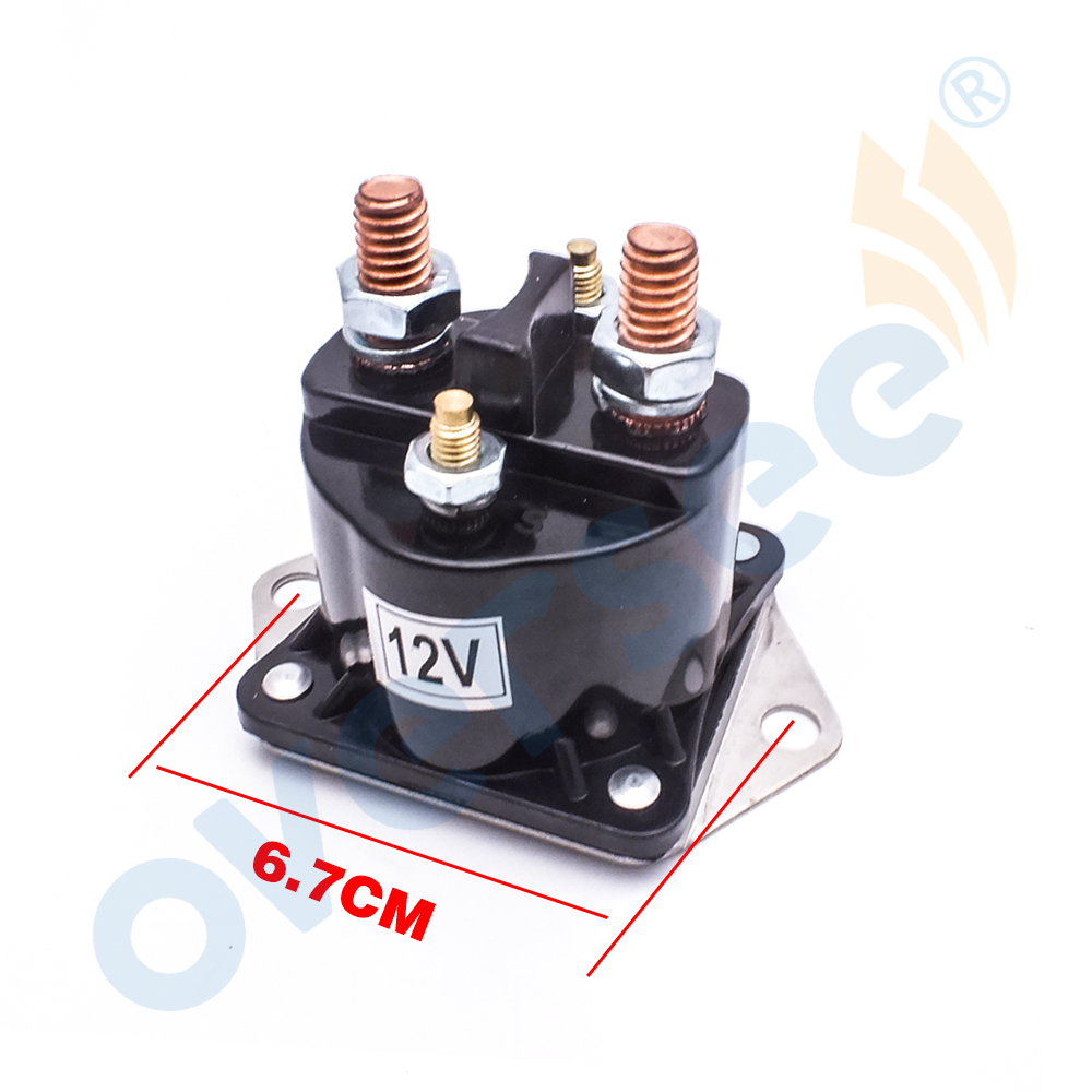 89-68258A4 New Starter Power Trim Solenoid Relay For Mercury Outboards 67-710 8968258,