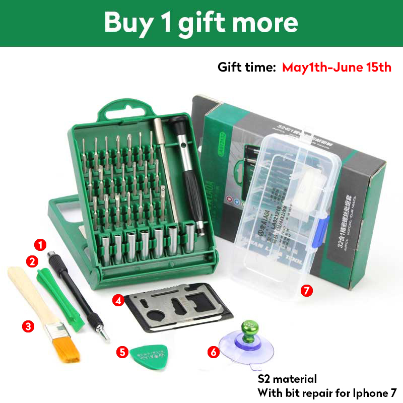 Workmanship 2017 New Professional 38 In 1 Screwdriver Set Alloy Steel Material Repair Tools Kit Precision For Cell Phone For Iphone Notebook Exquisite In