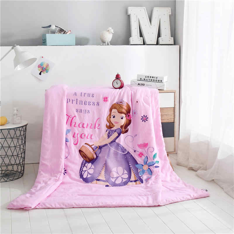 Sofia Princess Blanket For Bed Twin