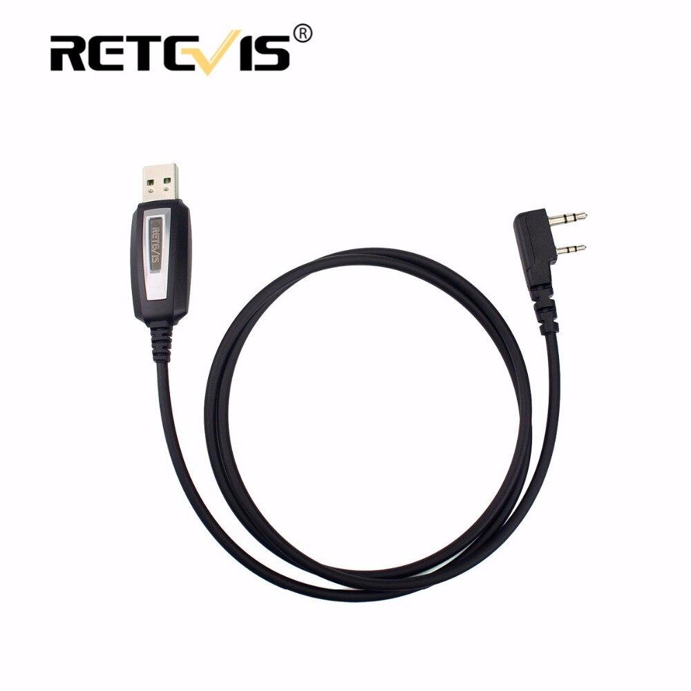 imágenes para Accesorios Walkie Talkie de Programación USB Cable Para Baofeng UV-5R UV 5R Retevis H777 RT7 Para Kenwood Bf-888S UV-82 Para WLN KD-C1
