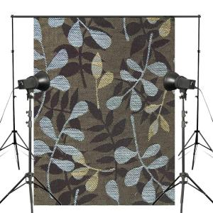 Image 2 - Blue Brown Pattern Photography Background Print Cloth Photo Backdrops Photo Studio Props 5x7ft Wall Photography Background