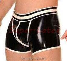 Neue Fetisch Sex Produkte Sexy Lingerie Cekc Erotische Kostüme Babydoll Handmade Heißer Männer Latex Hosen Mit Verstärktes Shorts