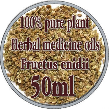 100% pure plant Herbal medicine oils FRUCTUS CNIDII herbal oil 50ml Essential oils traditional Chinese medicine oil