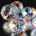 Frete grátis China top AAA qualidade 5040 branco AB contas de cristal 4 MM 6 MM 8 MM 10 MM 12 MM 14 MM contas de vidro de cristal rondelles contas