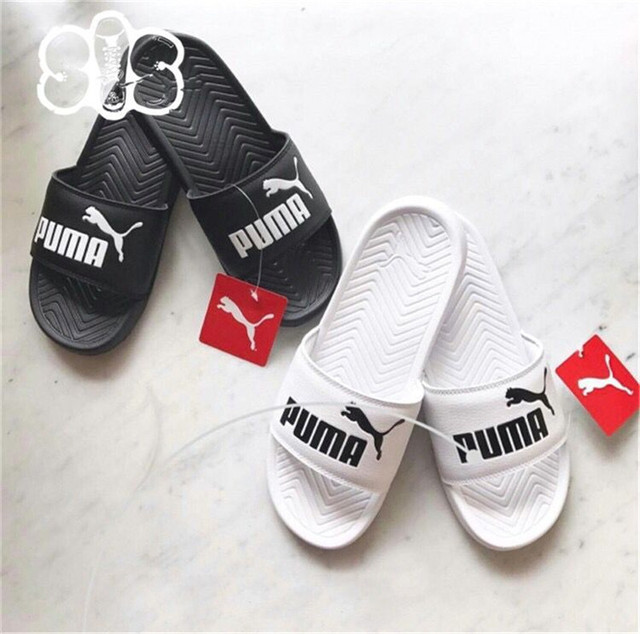ef855423d75bb6 Puma PopCat Slippers Men and women Shoes Classic Waterproof Couple Beach  Slippers 36 44-in Badminton Shoes from Sports   Entertainment on  Aliexpress.com ...