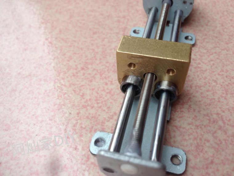 Stepper Motor de Passo Do Motor de Slides 20mm Micro Mesa Linear Linear Rolamento Do Motor