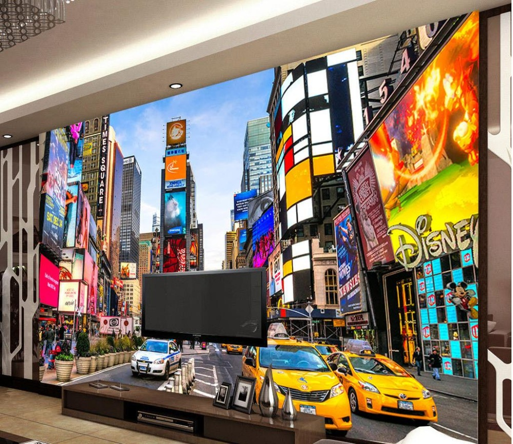 living room times square modern building in times square new york living 13913