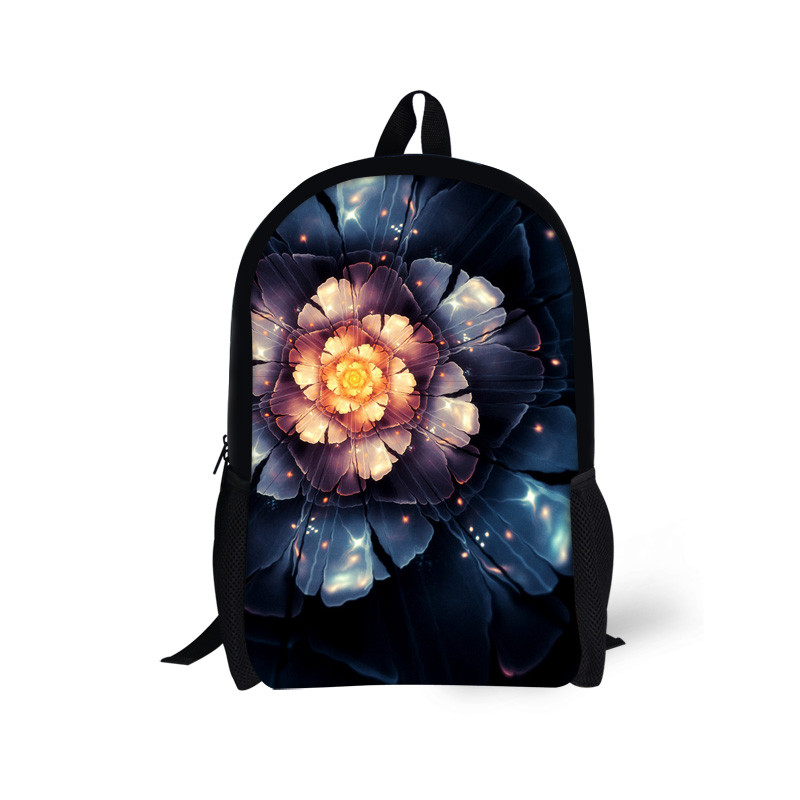 Fashion Floral Child Back Pack Brand Design Flower Printing Backpacks For Teenager Girls Children Mochila School Kids Rucksack