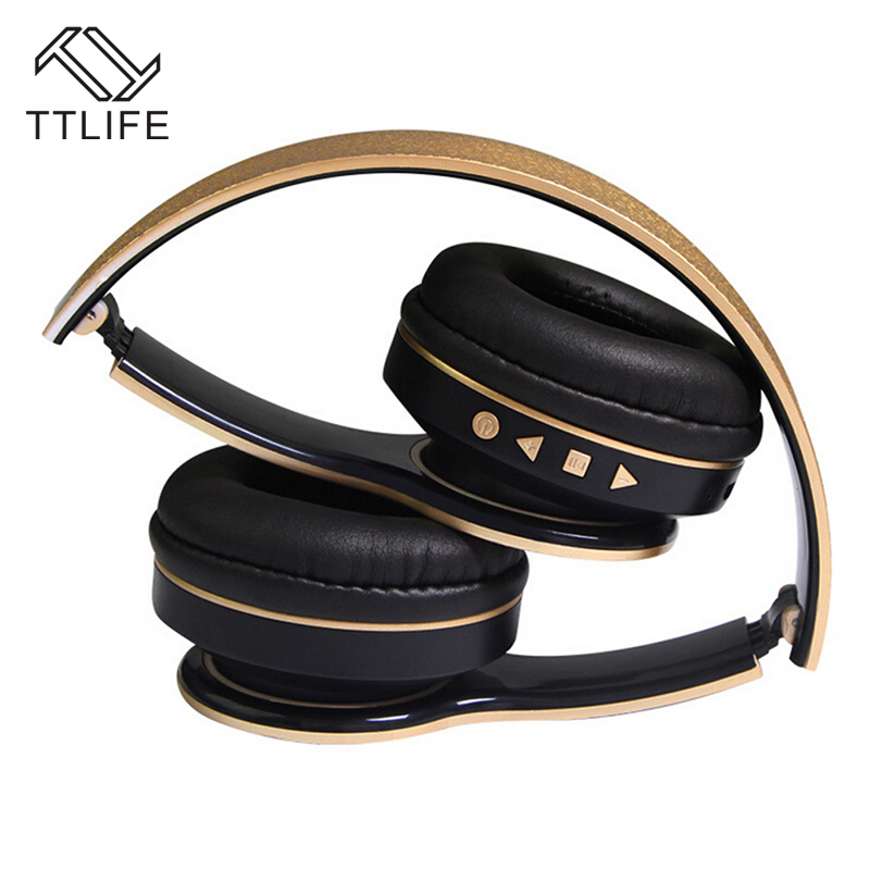 TTLIFE Bluetooth 4.0 Headphone Handsfree Stereo Headset Wireless Bluetooth Earphone Foldable Universal For iPhone 7 Huawei IOS universal n900 bluetooth headset v4 0 stereo bluetooth headphone wireless bluetooth earphone handsfree for samsung iphone 4 5 5s