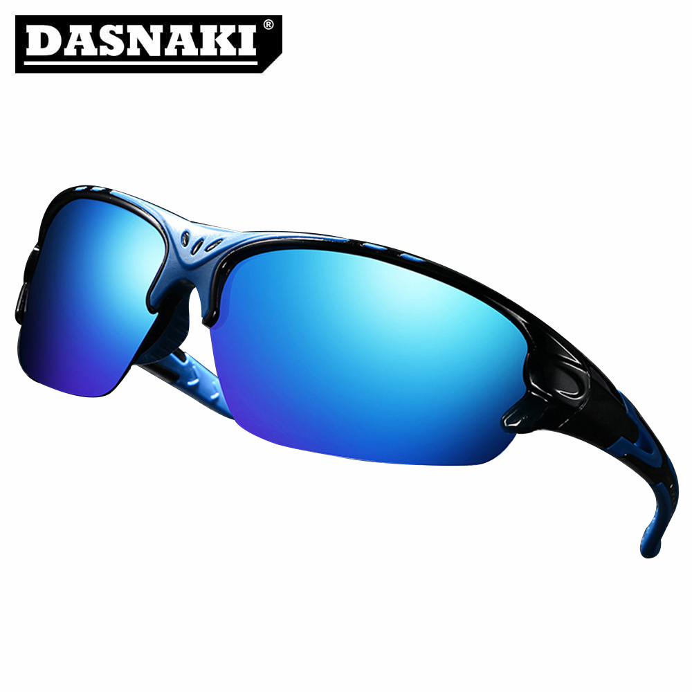 DASNAKI Polarized Fishing glasses Reduce Visual fatigue Sunglasses Men Outdoor Sport Sun Glasses For Driving Fishing Golfing