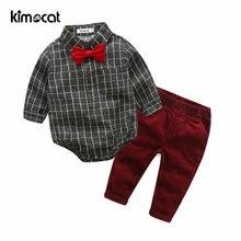 Kimocat/весенне осенняя одежда для маленьких мальчиков и девочек