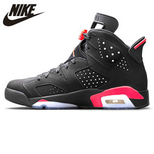 low priced 41f7a 39826 Nike Air Jordan 6 Black Infrared AJ6 Men Basketball Shoes, Black   Red,  Shock